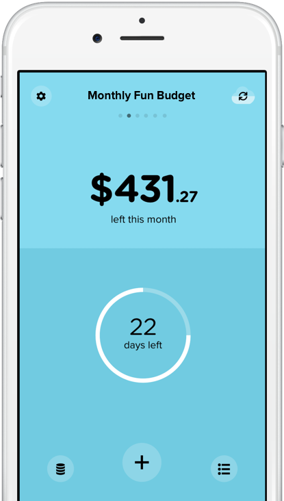 Pennies for iPhone - A super simple, personal money budget manager app